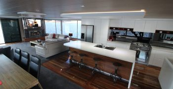 The Houseboat Factory 007 Downstairs Living Area (1)