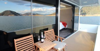 The Houseboat Factory 007 Master Bedroom Private Deck