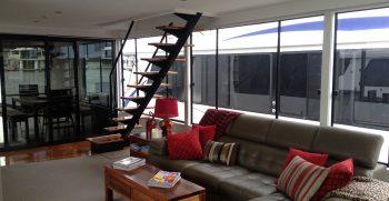 The Houseboat Factory Shiraz Lounge Area