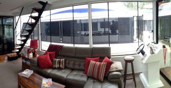 The Houseboat Factory Shiraz Lounge Area & Controls