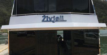 The Houseboat Factory Zivjeli – Rear