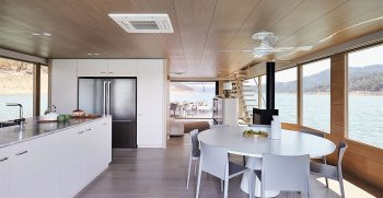 The Houseboat Factory Halcyon Lower Deck Interior 1