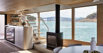 The Houseboat Factory Halcyon Lower Deck Interior 11