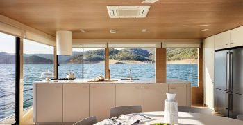 The Houseboat Factory Halcyon Lower Deck Interior 2