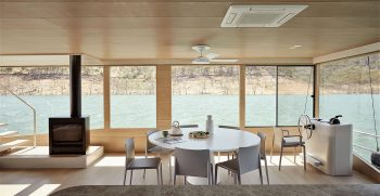 The Houseboat Factory Halcyon Lower Deck Interior 4