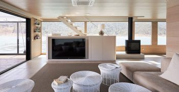 The Houseboat Factory Halcyon Lower Deck Interior 6