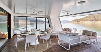 The Houseboat Factory Halcyon Lower Deck Interior 8