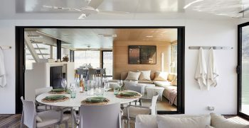 The Houseboat Factory Halcyon Lower Deck Interior 9