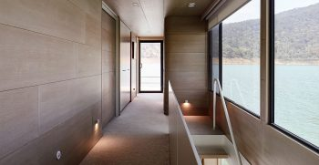 The Houseboat Factory Halcyon Upper Deck Interior 1