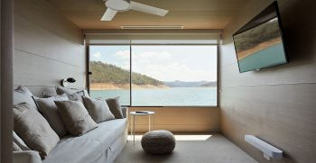 The Houseboat Factory Halcyon Upper Deck Interior 5
