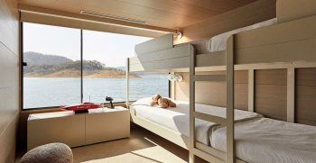 The Houseboat Factory Halcyon Upper Deck Interior 6