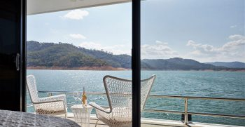 The Houseboat Factory Halcyon Upper Deck Interior 8